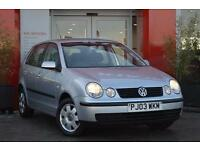 2003 Volkswagen Polo 1.4 SE 75 5 door Petrol Hatchback