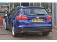 2015 Ford Focus 1.6 125 Titanium Navigation 5 door Powershift Petrol Estate