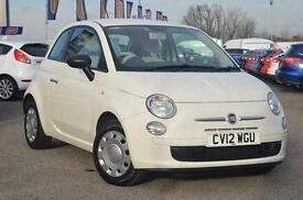 2012 Fiat 500 1.2 Pop 3 door [Start Stop] Petrol Hatchback