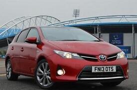 2013 Toyota Auris 1.8 VVTi Hybrid Excel 5 door CVT Auto [Nav/Pan Rf] Hybrid Hatc