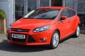 2013 Ford Focus 1.0 125 EcoBoost Zetec 5 door Petrol Hatchback