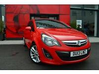 2013 Vauxhall Corsa 1.4 SRi 3 door [AC] Petrol Hatchback
