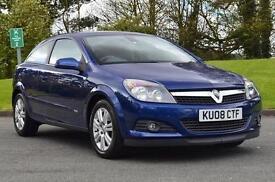 2008 Vauxhall Astra 1.6i 16V Design [115] 3 door Petrol Hatchback