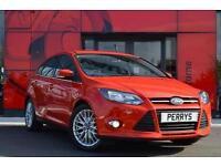2013 Ford Focus 1.0 125 EcoBoost Zetec 5 door Petrol Hatchback