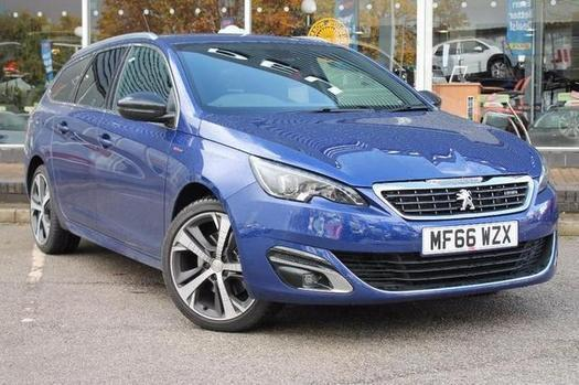 2016 peugeot 308 sw 2 0 bluehdi 150 gt line 5 door diesel. Black Bedroom Furniture Sets. Home Design Ideas