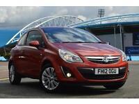 2012 Vauxhall Corsa 1.0 ecoFLEX Active 3 door Petrol Hatchback