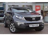 2014 Kia Sportage 1.6 GDi ISG 2 5 door Petrol Estate