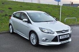 2014 Ford Focus 1.0 125 EcoBoost Zetec S 5 door Petrol Hatchback