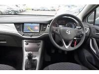 2017 Vauxhall Astra 1.4T 16V 125 Tech Line 5 door Petrol Hatchback
