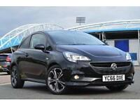 2016 Vauxhall Corsa 1.4T [150] Black Edition 3 door Petrol Hatchback
