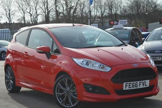 Fiesta St Line 140 >> 2016 Ford Fiesta 1.0 EcoBoost 140 ST-Line 3 door Petrol Hatchback | in Chesterfield, Derbyshire ...