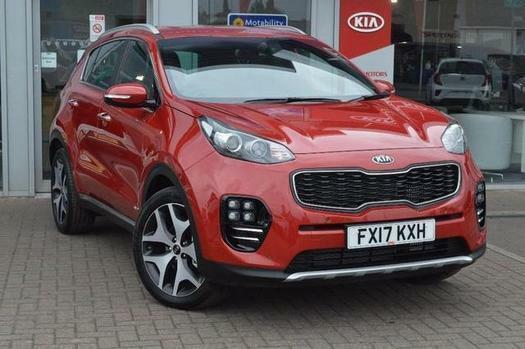 2017 kia sportage 2 0 crdi gt line 5 door auto awd diesel estate in worksop nottinghamshire. Black Bedroom Furniture Sets. Home Design Ideas