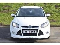 2014 Ford Focus 1.6 182 EcoBoost Zetec S 5 door Petrol Hatchback