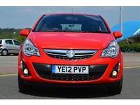 2012 Vauxhall Corsa 1.2 Active 3 door [AC] Petrol Hatchback