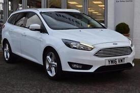 2016 Ford Focus 1.5 TDCi 120 Zetec 5 door Diesel Estate