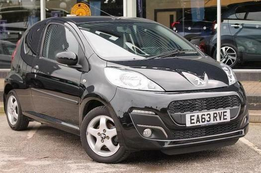 2013 Peugeot 107 1.0 Allure 3 door Petrol Hatchback