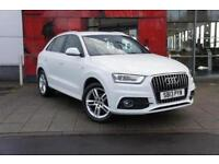 2013 Audi Q3 2.0 TDI S Line 5 door Diesel Estate
