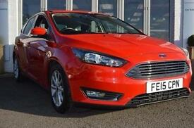 2015 Ford Focus 1.0 EcoBoost 125 Titanium 5 door Petrol Hatchback