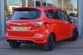 2017 Ford B-MAX 1.0 EcoBoost Zetec Red Edition 5 door Petrol Hatchback