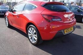2013 Vauxhall Astra GTC 1.4T 16V SRi 3 door Petrol COUPE