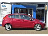 2012 Ford Fiesta 1.25 Zetec 5 door [82] Petrol Hatchback