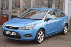 2010 Ford Focus 1.6 Zetec 5 door Petrol Hatchback