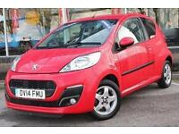 2014 Peugeot 107 1.0 Allure 3 door Petrol Hatchback