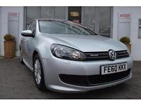 2010 Volkswagen Golf 1.6 TDi 105 BlueMotion 5 door Diesel Hatchback