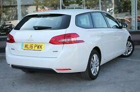 2016 Peugeot 308 SW 1.6 BlueHDi 100 Active 5 door Diesel Estate