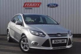 2014 Ford Focus 1.6 TDCi 115 Zetec 5 door Diesel Hatchback