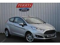 2017 Ford Fiesta 1.25 82 Zetec 3 door Petrol Hatchback