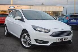 2016 Ford Focus 1.5 TDCi 120 Zetec Navigation 5 door Diesel Hatchback