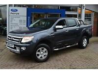 2013 Ford Ranger Pick Up Double Cab Limited 2.2 TDCi 150 4WD Auto Diesel Van
