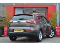 2011 Kia Sportage 1.7 CRDi ISG 2 5 door Diesel Estate