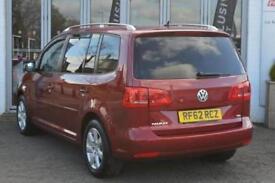 2012 Volkswagen Touran 1.6 TDI 105 SE 5 door DSG Diesel People Carrier