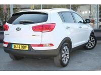2014 Kia Sportage 1.7 CRDi ISG 2 5 door Diesel Estate
