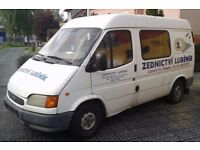Left hand drive FORD TRANSIT 2.5 DIESEL - LHD - EXPORT - 1 OWNER - WORKING ORDER