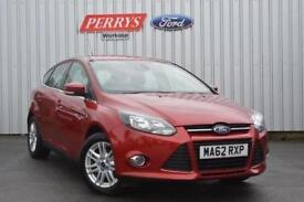 2012 Ford Focus 1.6 125 Titanium 5 door Powershift Petrol Hatchback