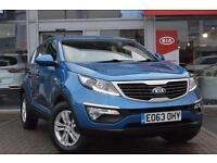 2013 Kia Sportage 1.7 CRDi ISG 1 5 door Diesel Estate