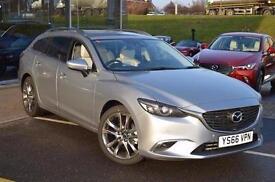 2017 Mazda 6 2.2d Sport Nav 5 door Diesel Estate