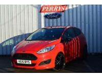 2015 Ford Fiesta 1.0 EcoBoost 140 Zetec S Red 3 door Petrol Hatchback