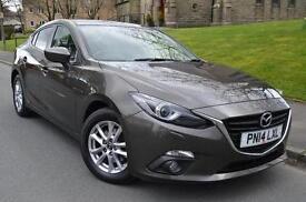 2014 Mazda 3 2.2d SE-L 4 door Diesel Saloon