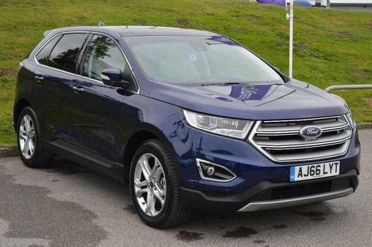 2017 Ford Edge 2.0 TDCi 180 Titanium 5 door Diesel Estate