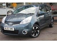 2012 Nissan Note 1.4 N-Tec+ 5 door Petrol Hatchback