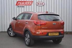 2014 Kia Sportage 1.7 CRDi ISG 3 5 door Diesel Estate