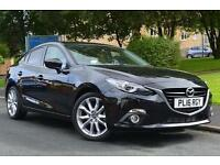 2016 Mazda 3 2.2d Sport Nav 4 door [Leather] Diesel Saloon