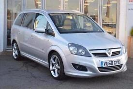2010 Vauxhall Zafira 1.9 CDTi SRi [150] 5 door [Exterior Pack] Diesel People Car