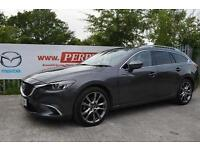 2016 Mazda 6 2.2d [175] Sport Nav 5 door Diesel Estate