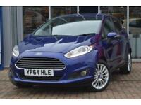 2014 Ford Fiesta 1.6 Titanium 5 door Powershift Petrol Hatchback