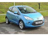2013 Ford Ka 1.2 Titanium 3 door [Start Stop] Petrol Hatchback